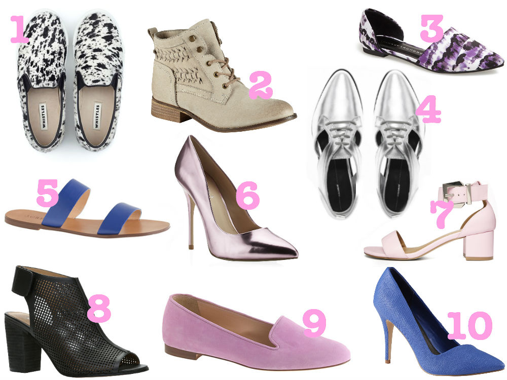 Pairs of shoes every woman should own