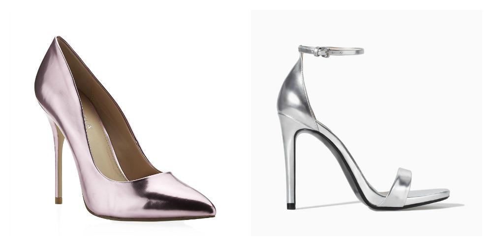 Pairs of shoes women should own: Metallic heels