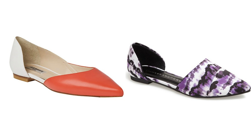 Pairs of shoes women should own: d'orsay flats