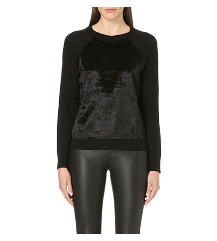 Faux fur Michael Kors jumper