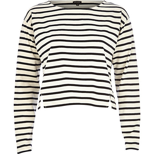 striped crop stop, RIver Island