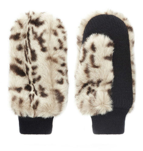 Faux fur mittens, Whistles